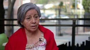 Bertha Oliva es una de las defensoras de derechos humanos más conocida de Honduras.