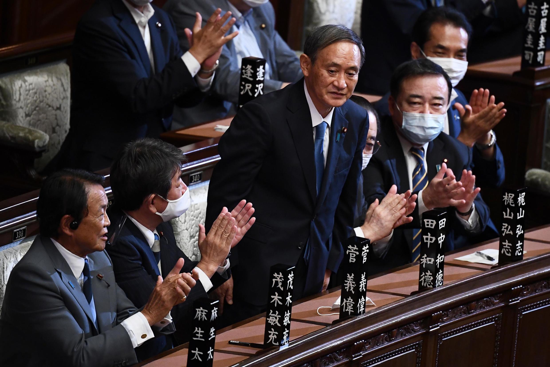 菅義偉Yoshihide Suga2020年9月16日於日本眾議院當選日本新首相。