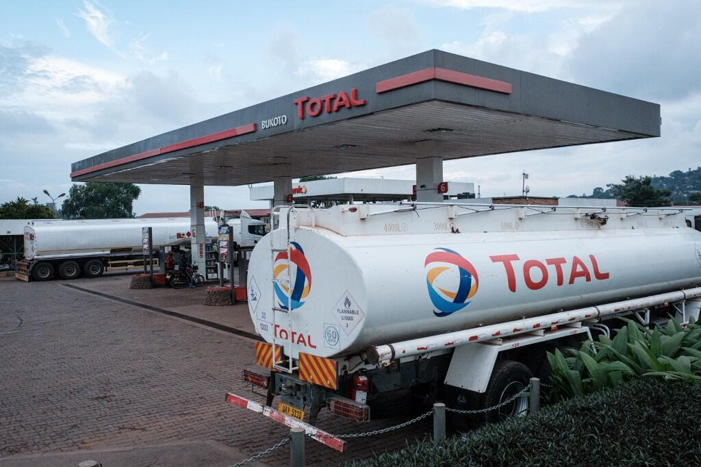 A general view of a Total petrol station in Kampala Uganda, on January 28, 2020. -The French firm is in talks with the government to begin exploiting its crude oil deposits that were discovered in 2006. But 14 years later, talks are still ongoing.