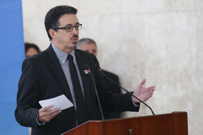 Novo ministro da Cultura, Sérgio Sá Leitão, durante cerimônia de posse no Palácio do Planalto. 25/07/2017- Brasília – DF