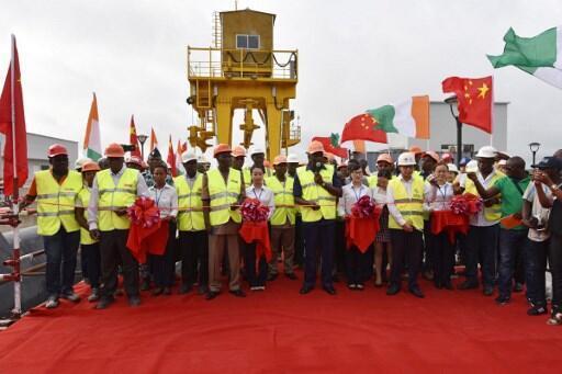 Inauguração da barragem hidroelétrica de Soubre da Companhia de Energia da Costa do Marfim. 06/03/19