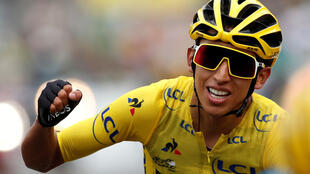 Egan Bernal est le premier Colombien a avoir remporté le Tour de France, le 28 juillet 2019.