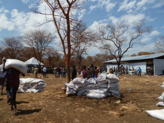 El campo de refugiado sursudanés de Kulé, en la región de Gambella en Etiopía.