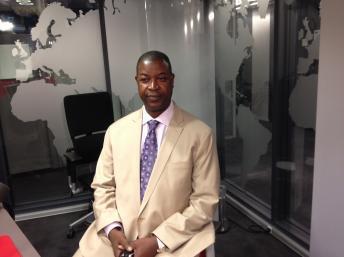 Nuno Nabian, líder da Assembleia do Povo Unido, Partido Democrático da Guiné-Bissau (APU-PDGB)