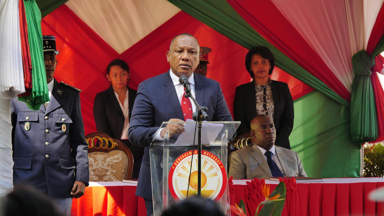 Christian Ntsay, le nouveau Premier ministre malgache, le 6 juin 2018.