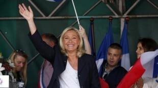 Marine Le Pen est donnée en tête de la présidentielle de 2017, dans un sondage Ifop publié le 5 septembre.