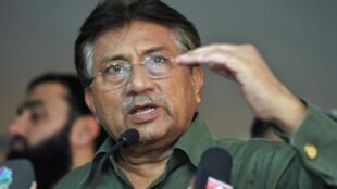 Cựu Tổng thống Pakistan Pervez Musharraf (Ảnh chụp ngày 23/03/2013 tại Dubai)