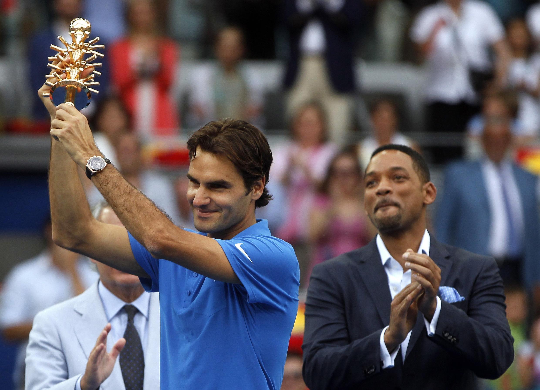 Роджер Федерер в Мадриде, 13 мая 2012 года