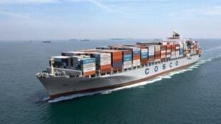中国远洋运输船