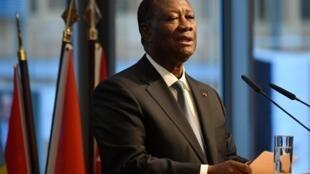 Rais wa Cote d'Ivoire Alassane Ouattara, Novemba 2019.