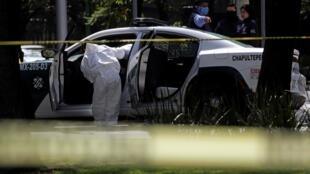 Le chef de la sécurité de Mexico, Omar Harfuch Garcia, a été la cible d'une embuscade à l'aube vendredi 26 juin dans la capitale.