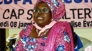 Brigitte Kafui Adjamagbo-Johnson.
