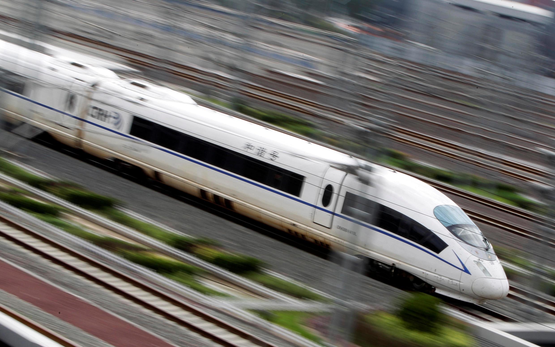 Một tàu cao tốc Trung Quốc. Ảnh chụp ngày 25/07/2011.