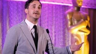 El director chileno Pablo Larraín en Beverly Hills, California, el pasado 22 de febrero de 2013.