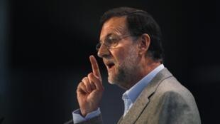 El premier español, Mariano Rajoy.