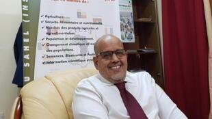 Ebbe Mohamed Abdallahi, directeur général de l'Institut du Sahel, un organisme spécialisé du Comité Permanent Inter-Etats de Lutte contre la Sécheresse dans le Sahel (CILSS)