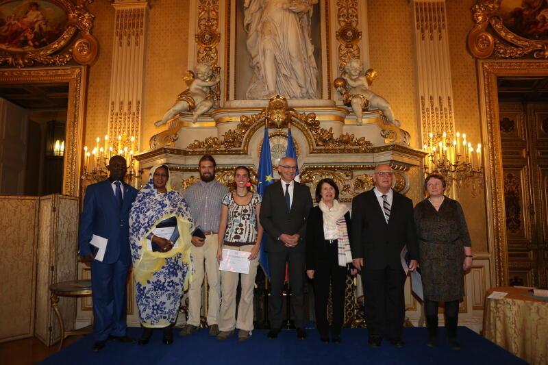 """2013年度法兰西共和国""""自由-平等-博爱""""人权奖"""