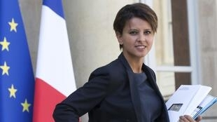 French Education and Research minister Najat Vallaud-Belkacem, 3 September 2014.