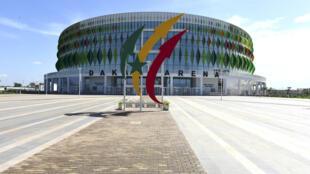 La Dakar Arena de Diamniadio, qui servira notamment lors des Jeux olympiques de la jeunesse 2022.