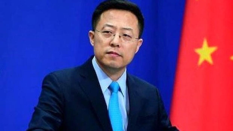 """赵立坚:以三个""""坚定不移""""回应美方干涉香港事务等问题"""