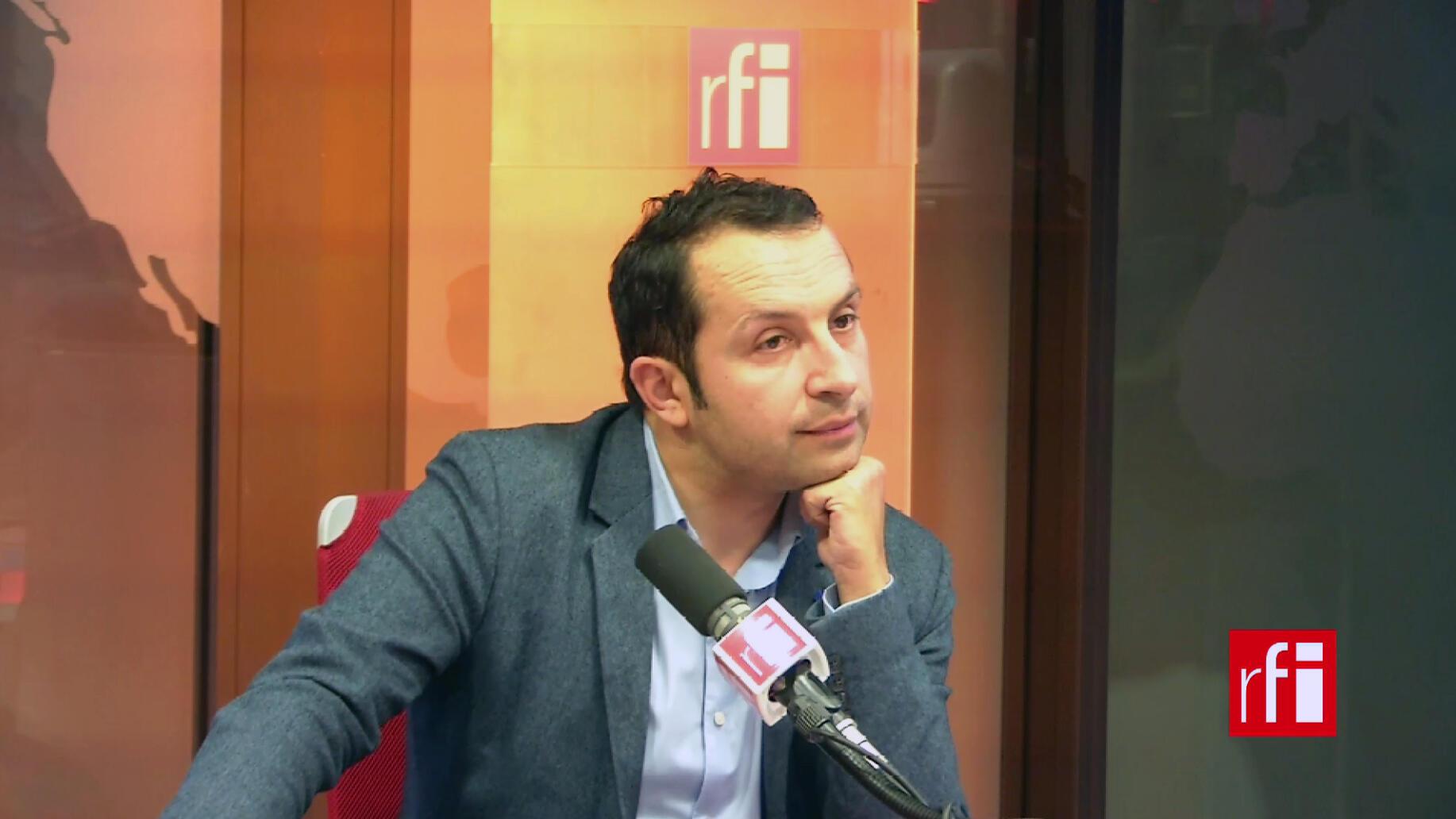 Sébastien Chenu, député, porte-parole du Rassemblement national.