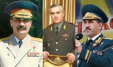 3 президента Ингушетии (слева - направо): Руслан Аушев, Мурат Зязиков и Юнус-Бек Евкуров
