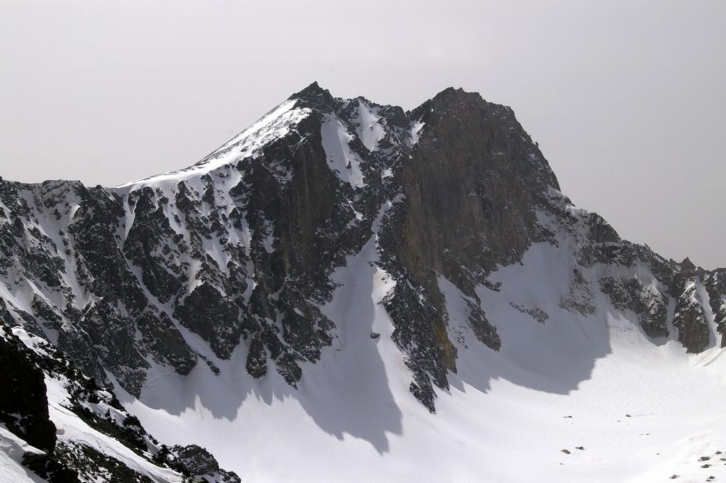 تصویری از یخچال طبیعی در علمکوه - ایران