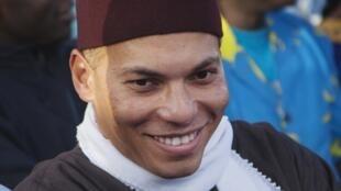 Karim Wade, le 6 décembre 2012 lors d'un meeting politique (Image d'illustration).