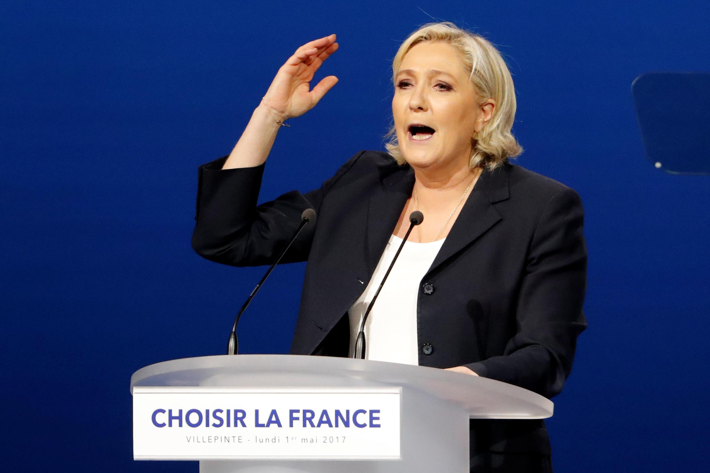 'Yar takarar Jam'iyyar FN Marine Le Pen a Faransa