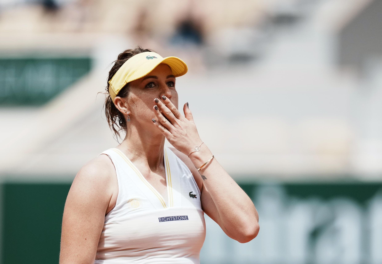 Анастасия Павлюченкова после победы.