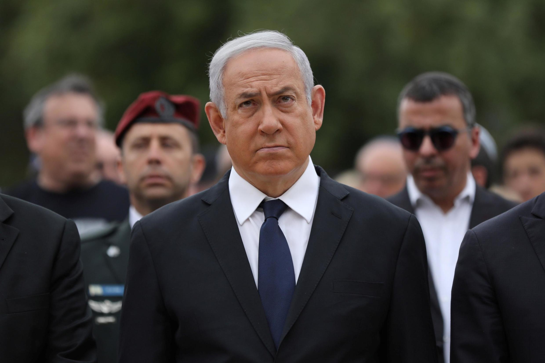 Primeiro-Ministro israelita Benjamin Netanyahu no passado dia 2 de Maio de 2019.