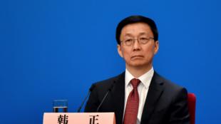 中国国务院副总理韩正资料图片