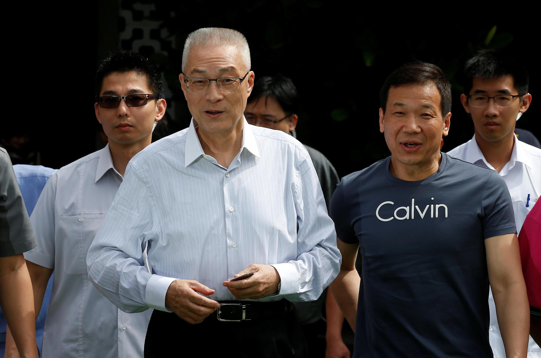 国民党现任主席吴敦义  2017年5月20日台北