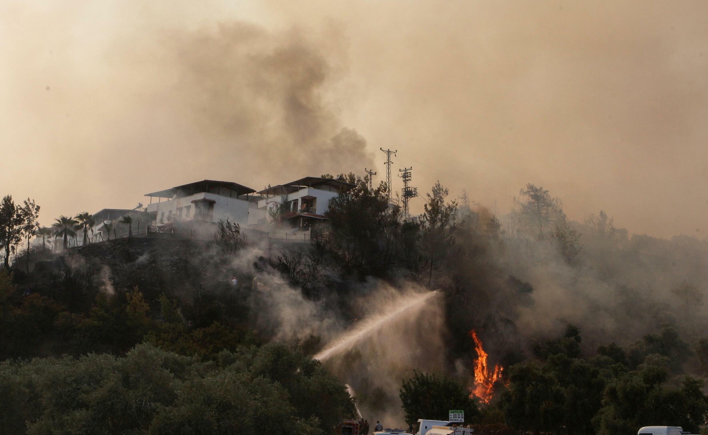 Turquia incêndio