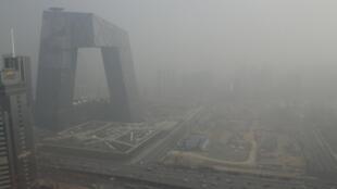 2013年1月14日北京霧霾天氣