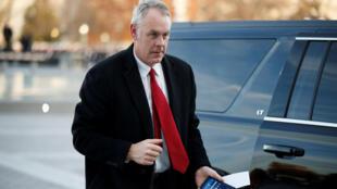 O secretário do Interior dos EUA, Ryan Zinke, deixará o cargo no fim do ano.