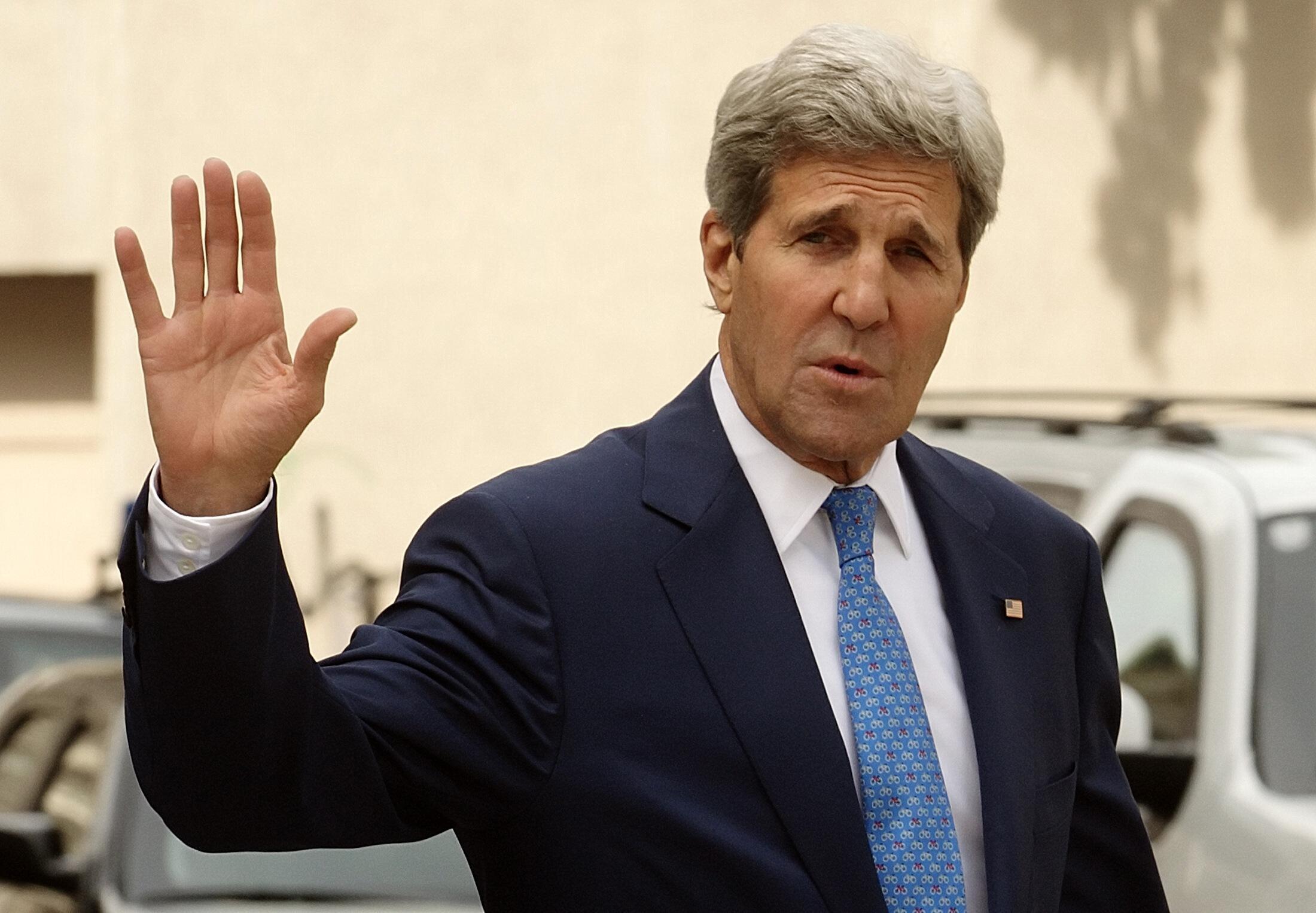 John Kerry  وزیر امورخارجه آمریکا