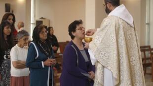 Célébration de Pâques en Irak, le 20 avril 2014.