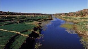 Le plateau dogon dans la région de Bandiagara au Mali.