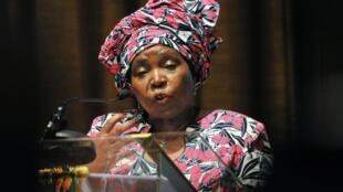 Nkosazana Dlamini Zuma, présidente de la commission de l'Union africaine.