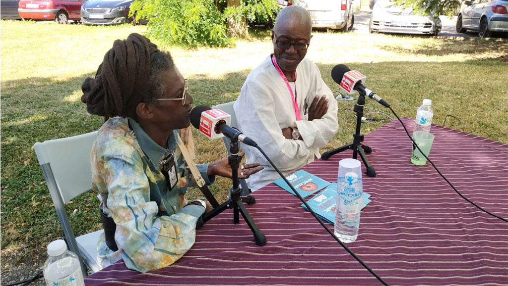 Cheick Lô et Souleymane Bachir Diagne à l'Africajarc.