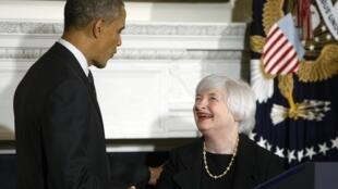 O presidente dos Estados Unidos, Barack Obama, anunciou nesta quarta-feira (9), a indicação de Janet Yellen para a presidência do Federal Reseve.