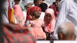 Población uigur en China