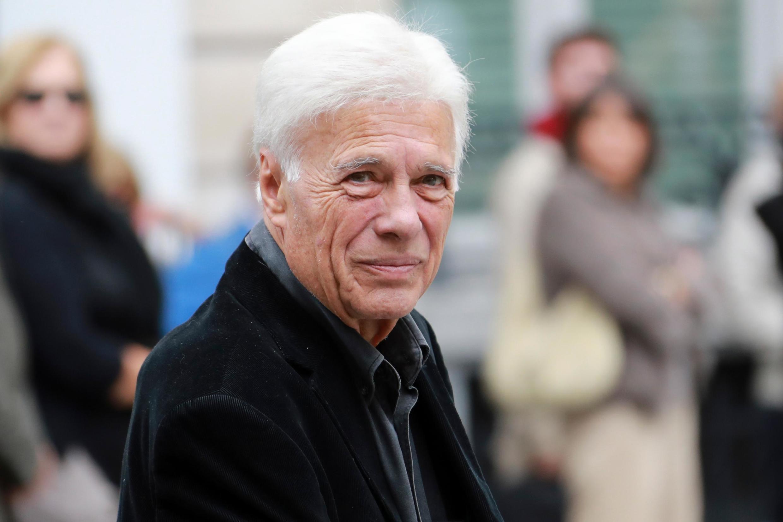 Guy Bedos in October 2017 in Paris.