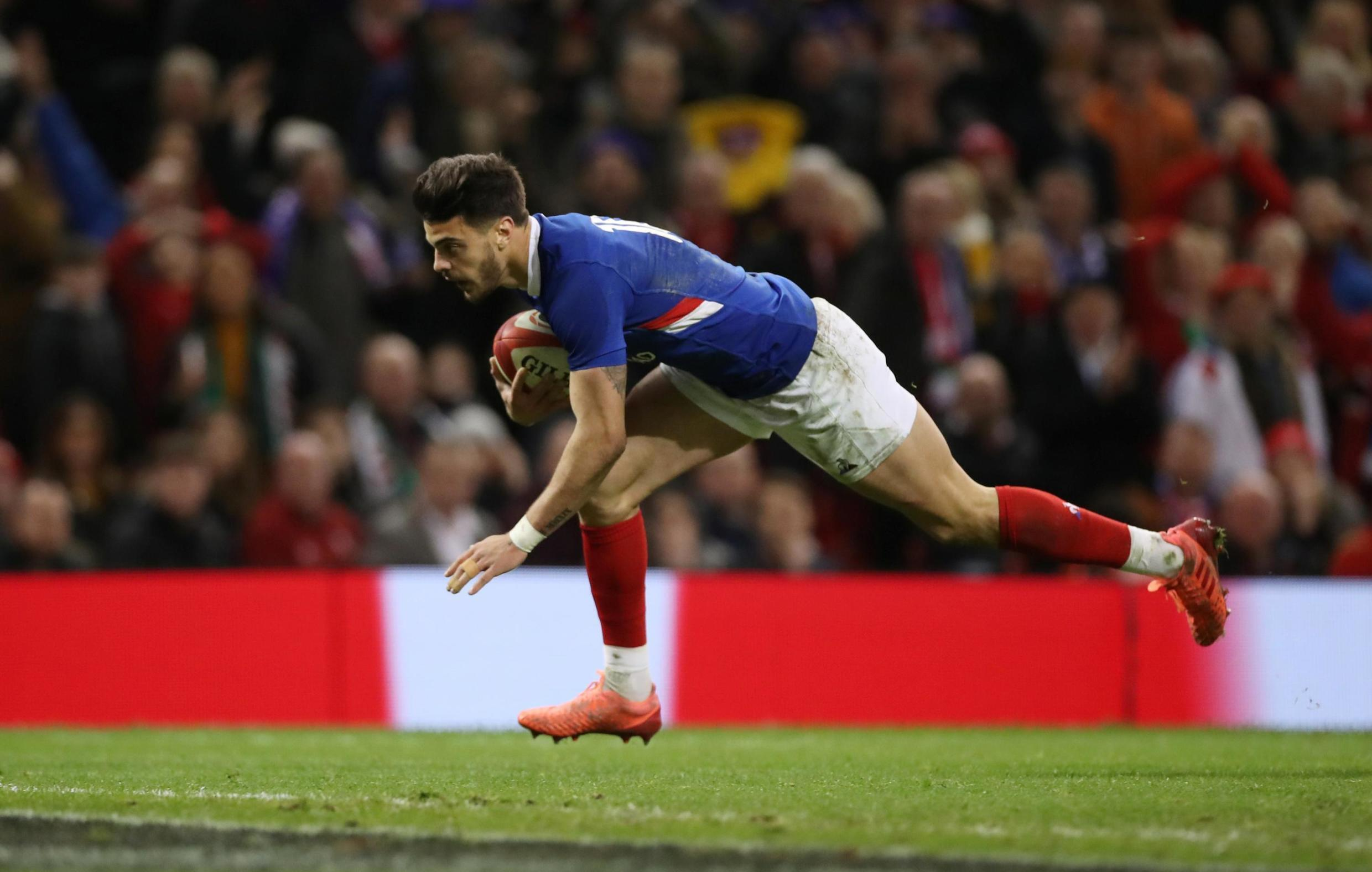 Romain Ntamack's 39 points during the 2020 Six Nations competition have helped France to the top of the table.