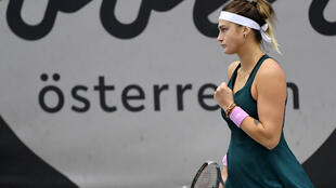 Aryna Sabalenka was knocked out in the first round of last year's Autralian Open