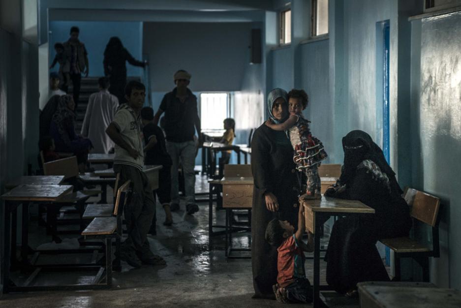 A small school in Gaza