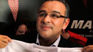 萨尔瓦多总统福内斯Mauricio Funes