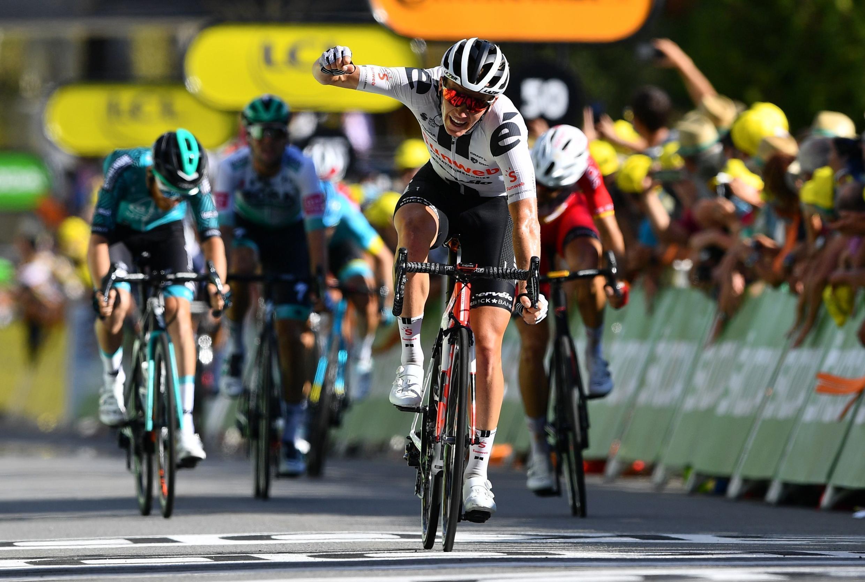 Marc Hirschi se impuso en la etapa número 12 del Tour de Francia entre Chauvigny y Sarran.