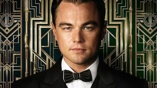 Leonardo DiCaprio takes pride of place on the new Great Gatsby poster